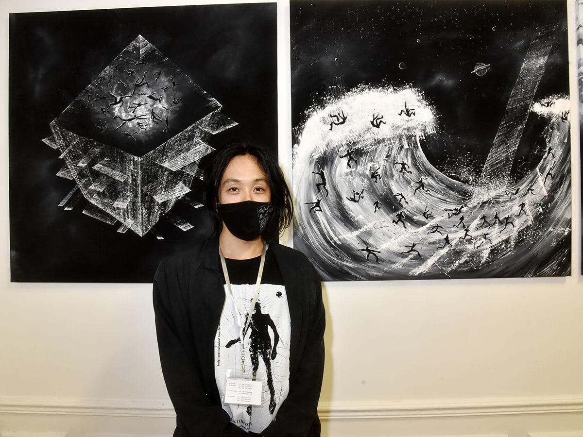 Daijiro Hama en mode tsunami gothique