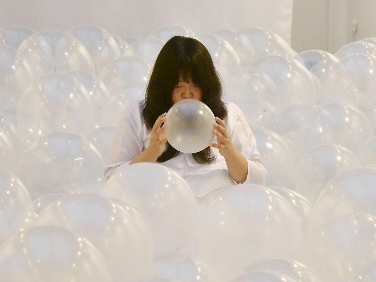 Shoi est une artiste plutot gonflée !