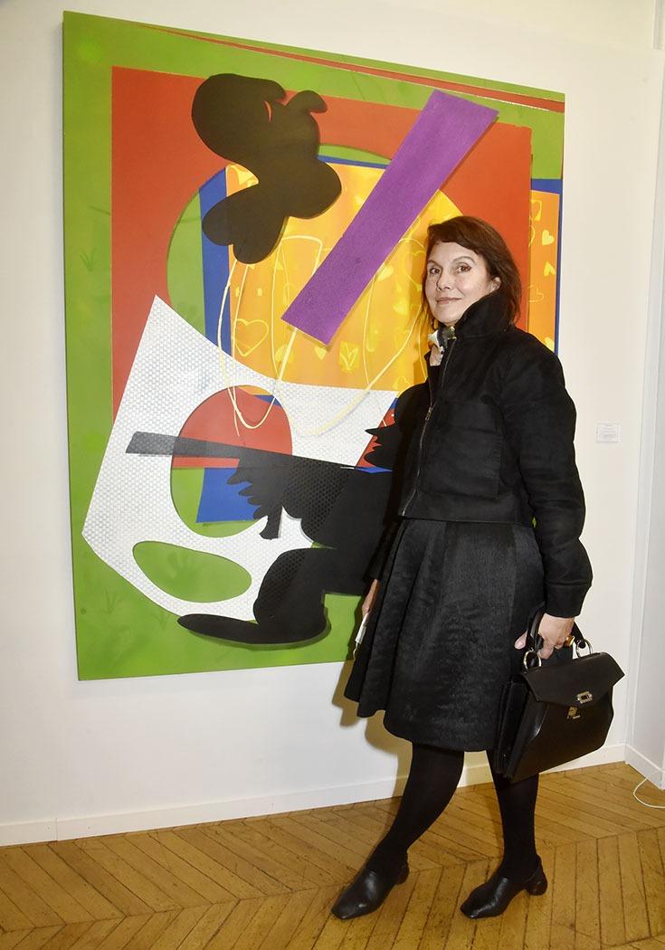 Sigrid de Montrond de la Galerie Visconti en mode Tata Flingueuse