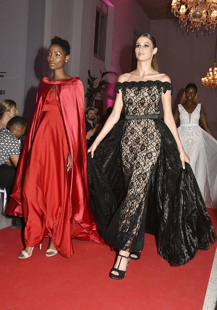 Des models en Zohra Amara