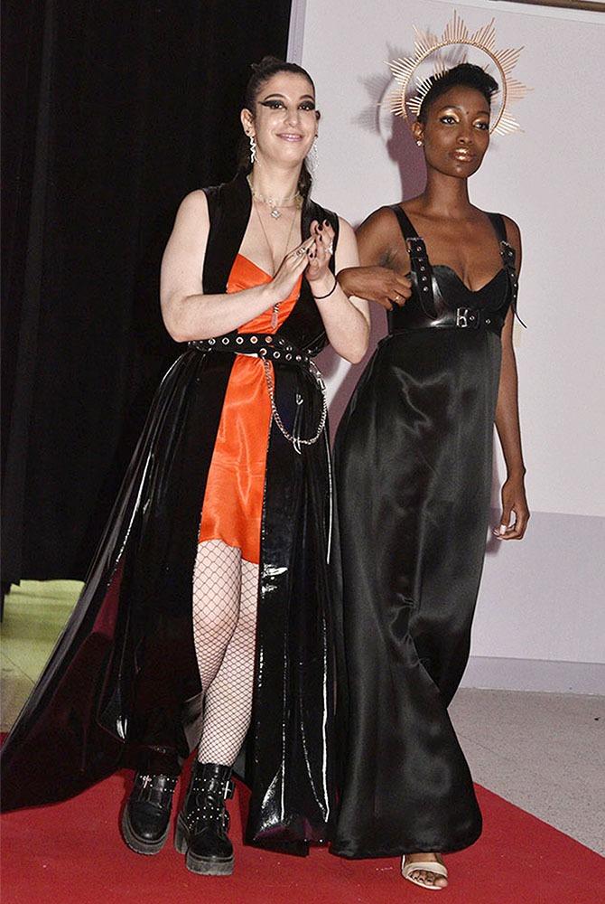 Sabrina Juris et son model Grace
