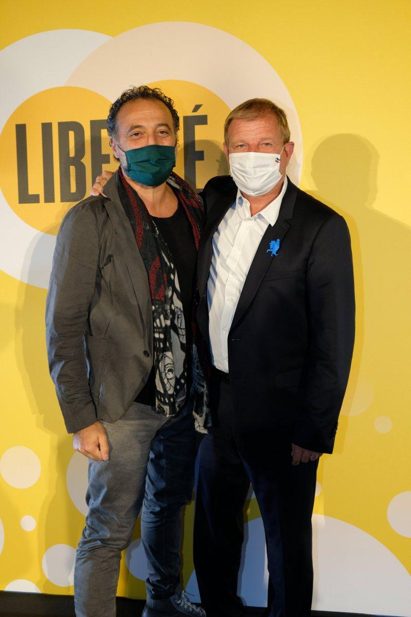 Franck Tapiro et Patrice Bégay