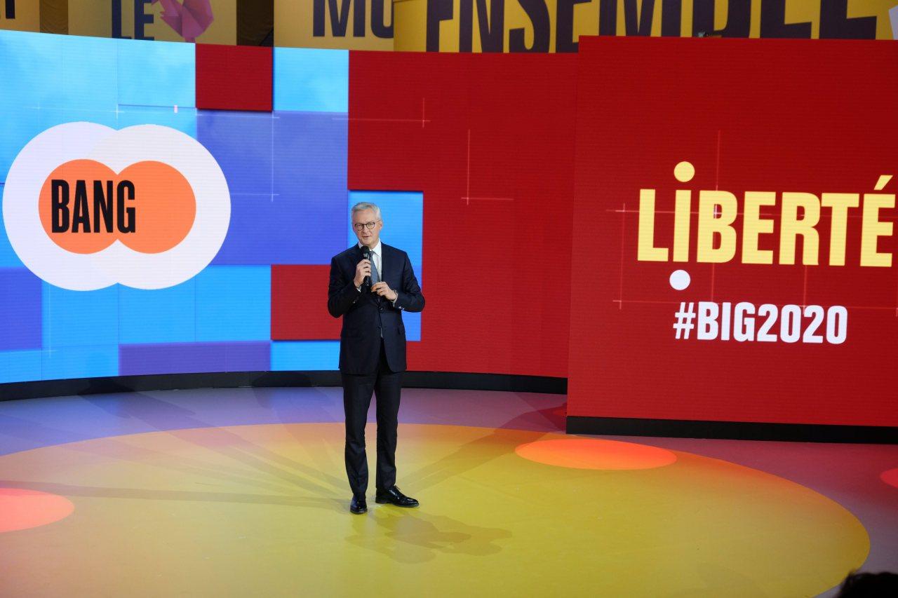 Le ministre de l économie Bruno Lemaire évoque la reprise qui arrive