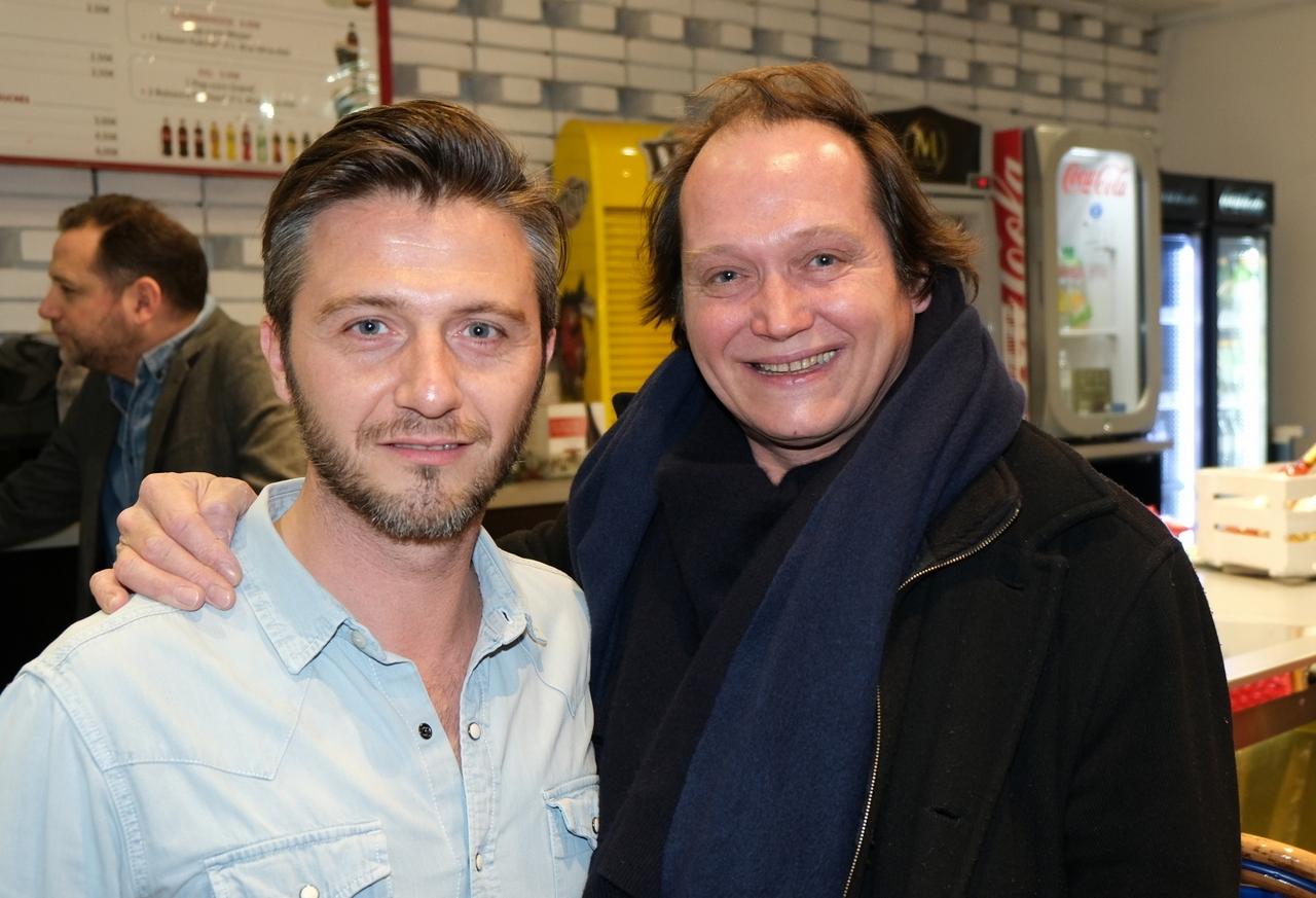 Sergio Do Vale et Christophe que l'on voit dans pas mal de séries en ce moment