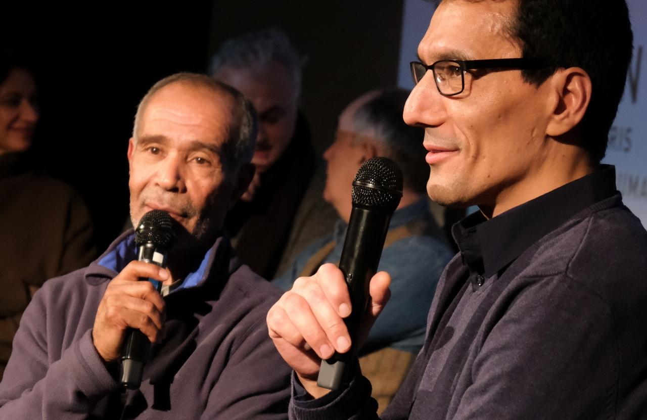 """Ahmed et Foued presentent """"le Chant d'Ahmed"""" film social sur la famille et les épreuves de la séparation."""