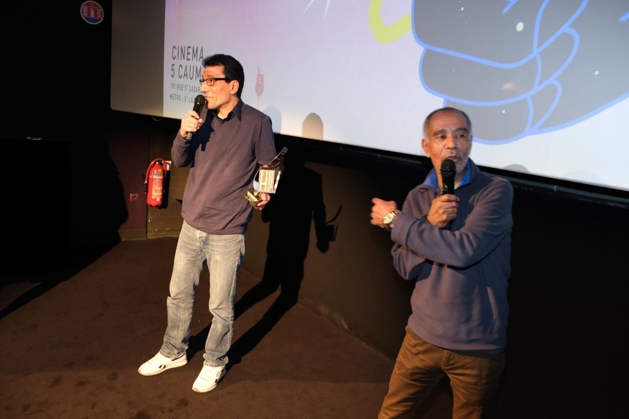 Le Chant d'Ahmed, de Foued Mansour remportele prix du public de cette édition de mars.