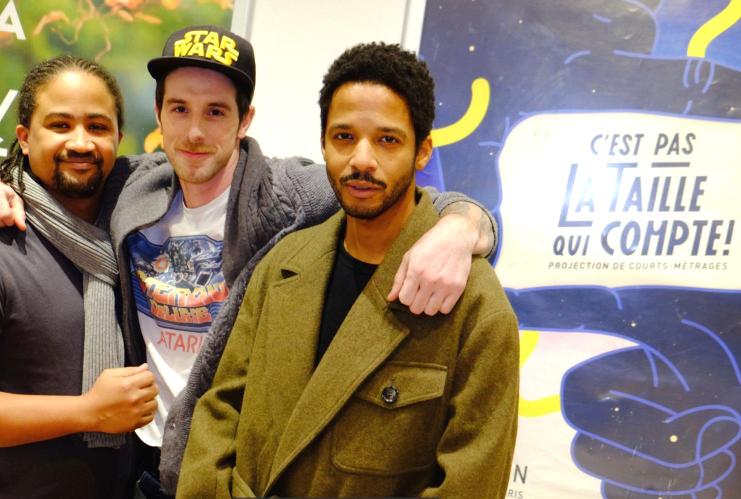 L'équipe AMERICAN DREAM  de NICOLAS POLIXENE & SYLVAIN LOUBET produit par CAVIAR avec Jean-Luc Joseph, Vincent Vermignon .