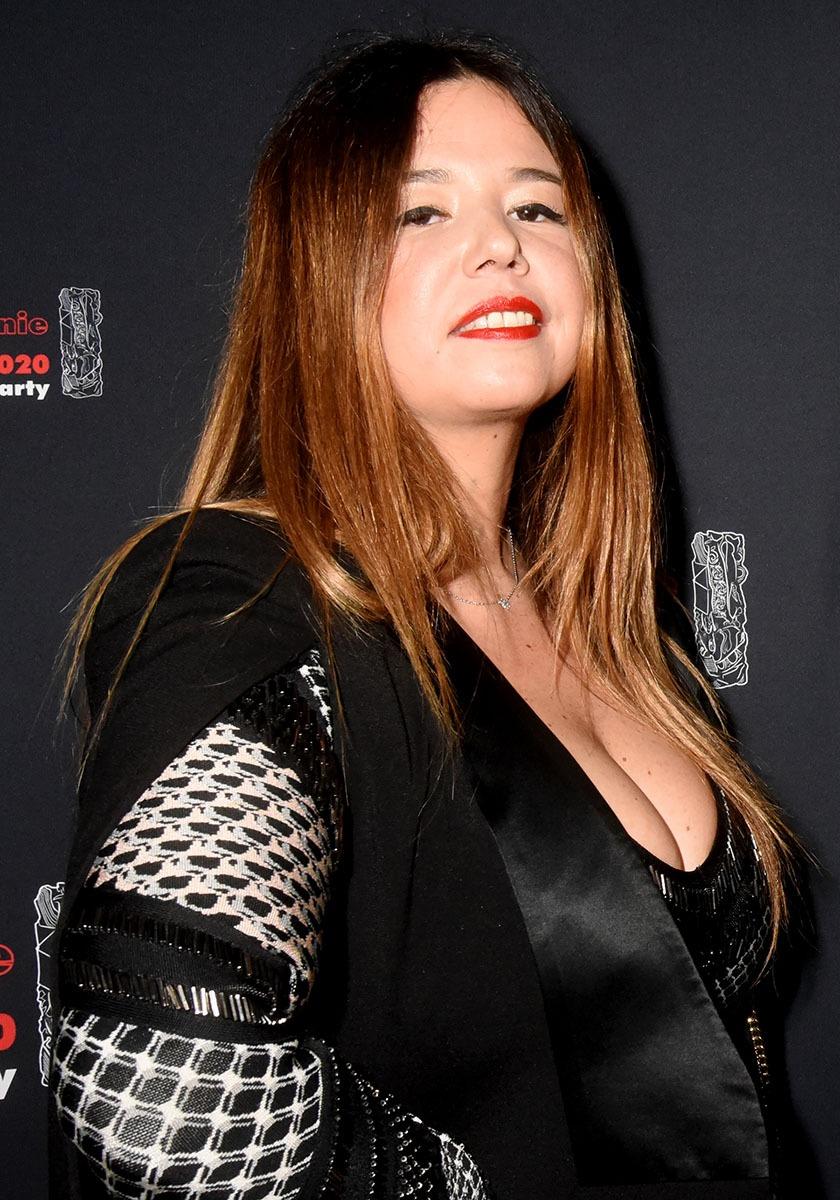 La chanteuse Chanez T aurait pu faire carrière à L'Opéra comme une sexy Castafiore elle a du coffre
