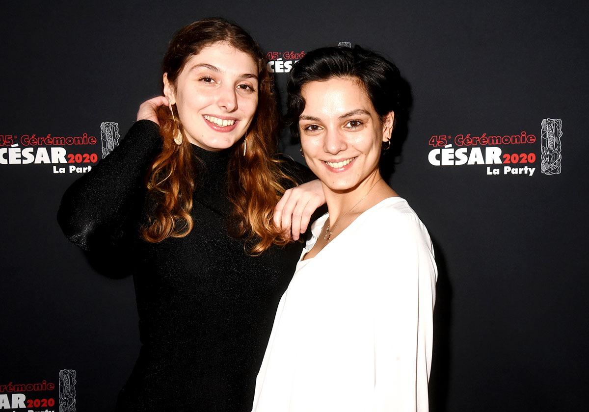 La Jeune actrice Anne Laure Sanchez et sa jeune real Joséphine Reboh sont venues faire de la figuration intelligente