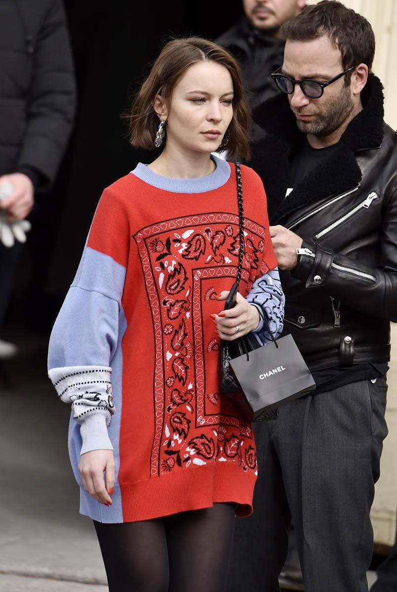 Diane Rouxel Bandanate en Chanel