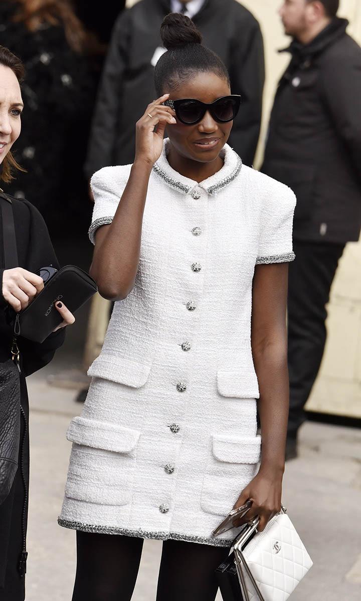 Finie «La Bande de Fille» dans son prochain film Karidja Touré  cocotte en Chanel