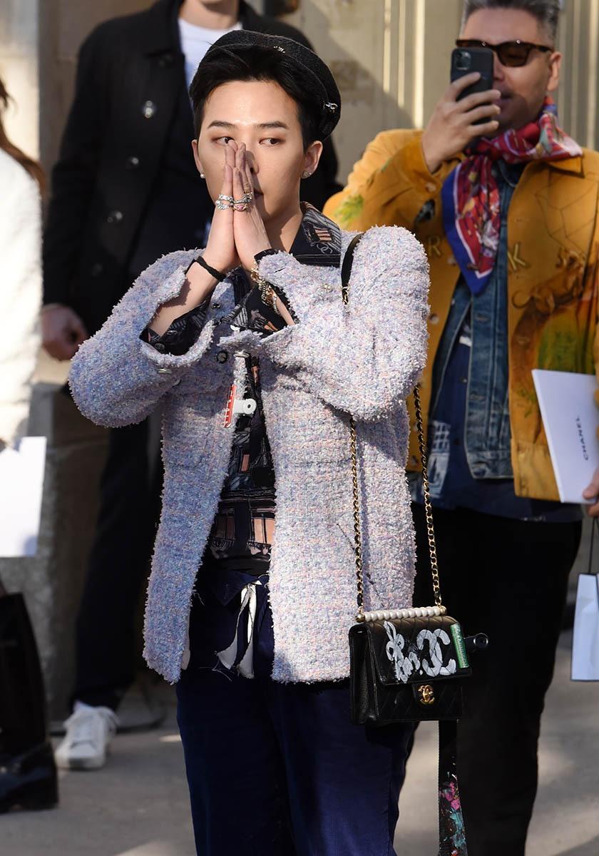 G-Dragon en mode zazou zazen