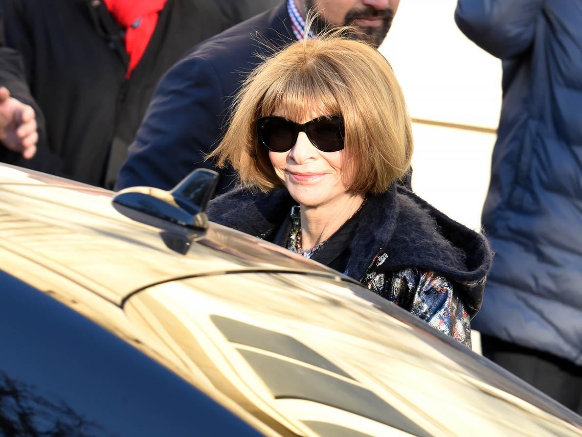 Pendant la fashion week Chanel fait partie du circuit de la Anna Wintour