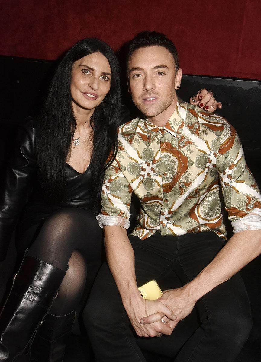 Sylvie Ortega est venue Tango Tangoter avec son ami Maxime Deryemez