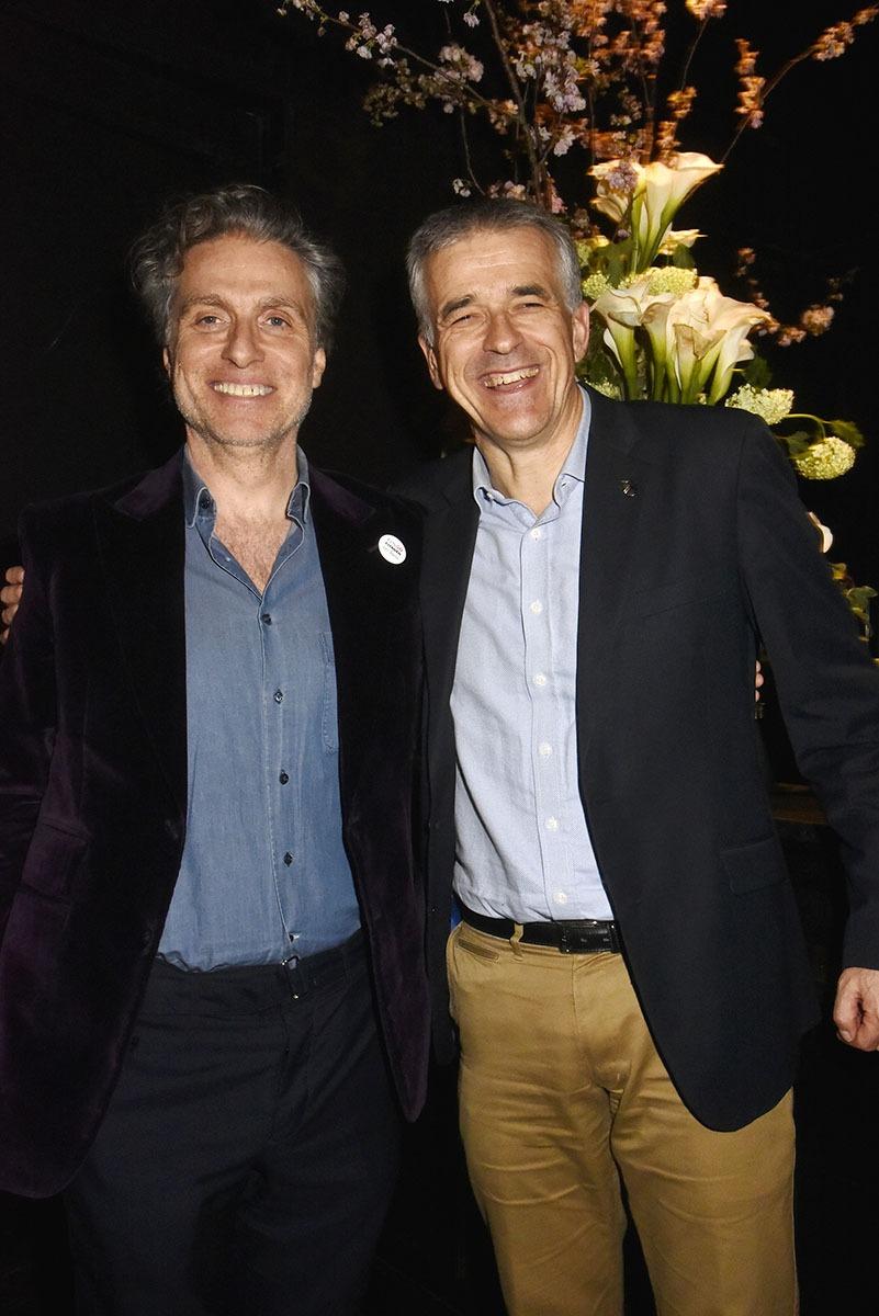 Avec cette GS50 Party Vincent Cobee big boss de Citroen et  Jean Pierre Marois Nous ont fait plus qu'une fleur!