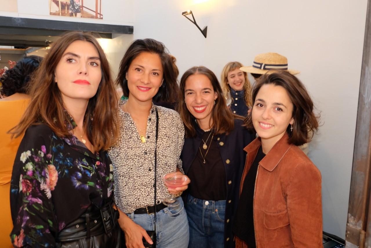 Les parisiennes chics adorent Fête Impériale