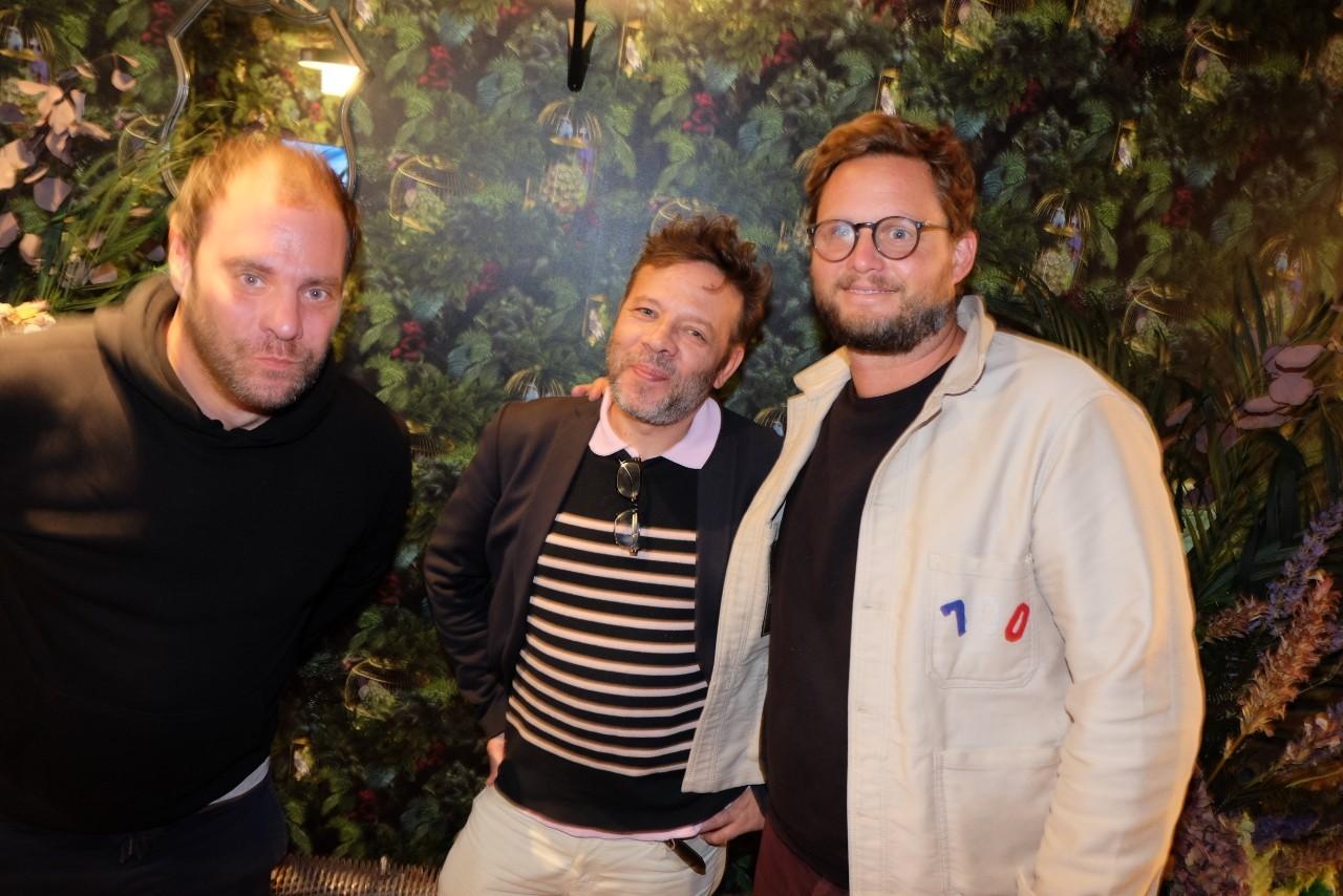 Julien ,  Jean Yves et Guilhem