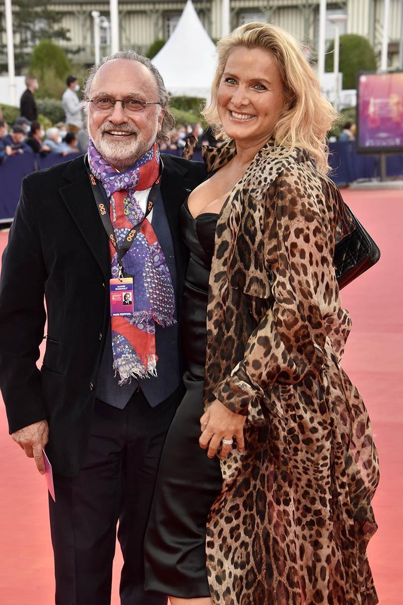 Olivier Dassault et la directrice de sa Not A Galerie Natacha Nikolajevic