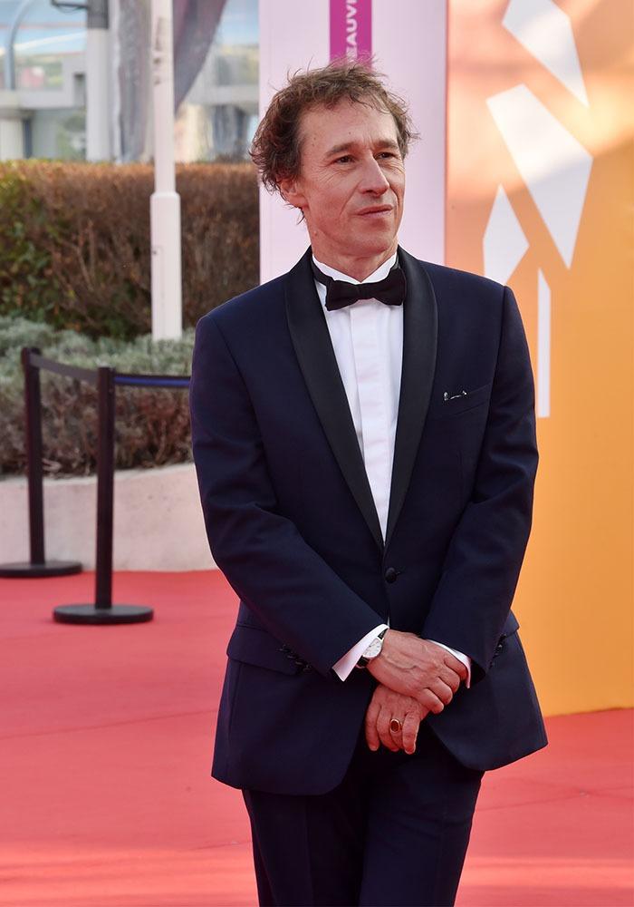 Bertrand Bonello bogosse  en tuxedo