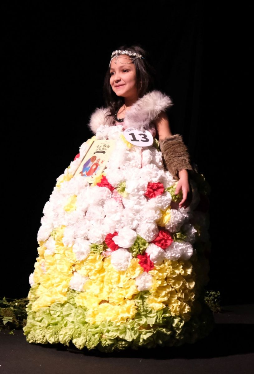 La mode en mode fleurs