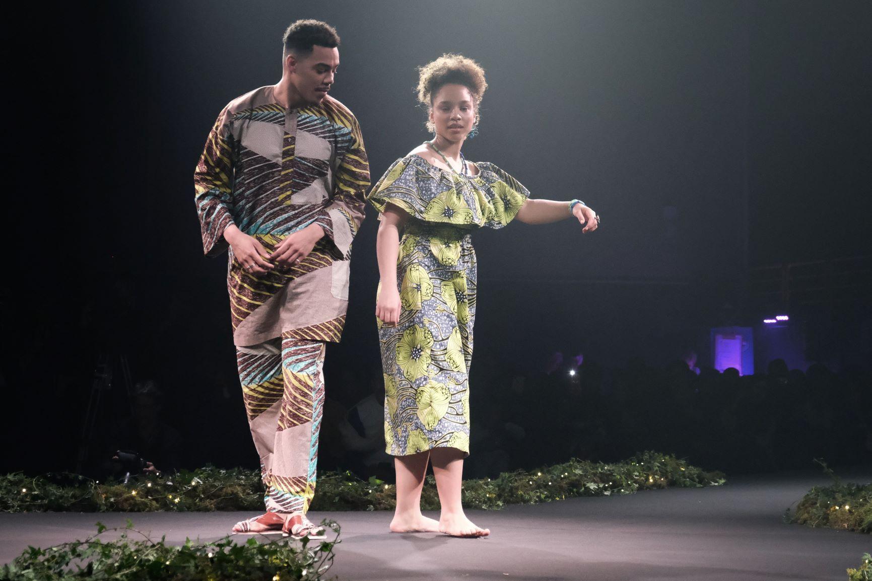 le défilé de tradition avec le Cap Vert