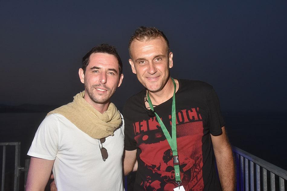 The  Avener  et  Les  Delices  Sonores  organisateur  le  DJ  Jo  Martins sont melting potes