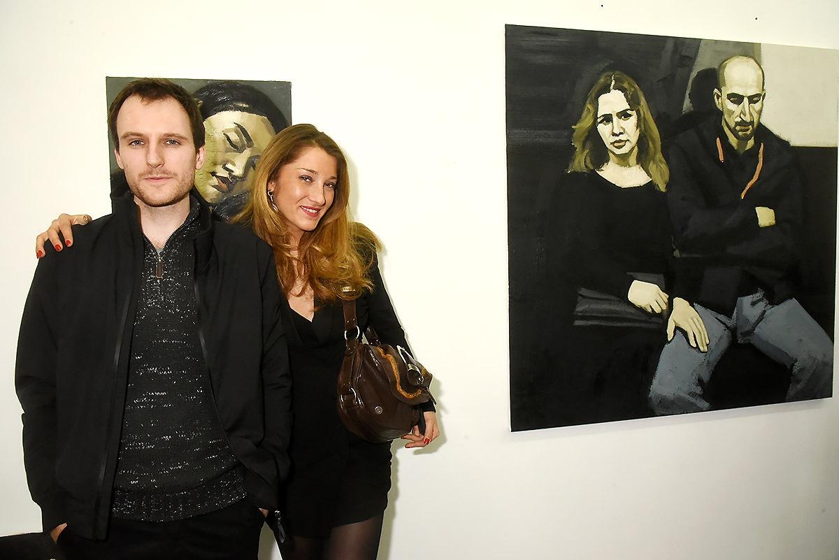 Gabrielle Bourgois Pandit pas peu fière de son talenteux artiste Maxime Biou