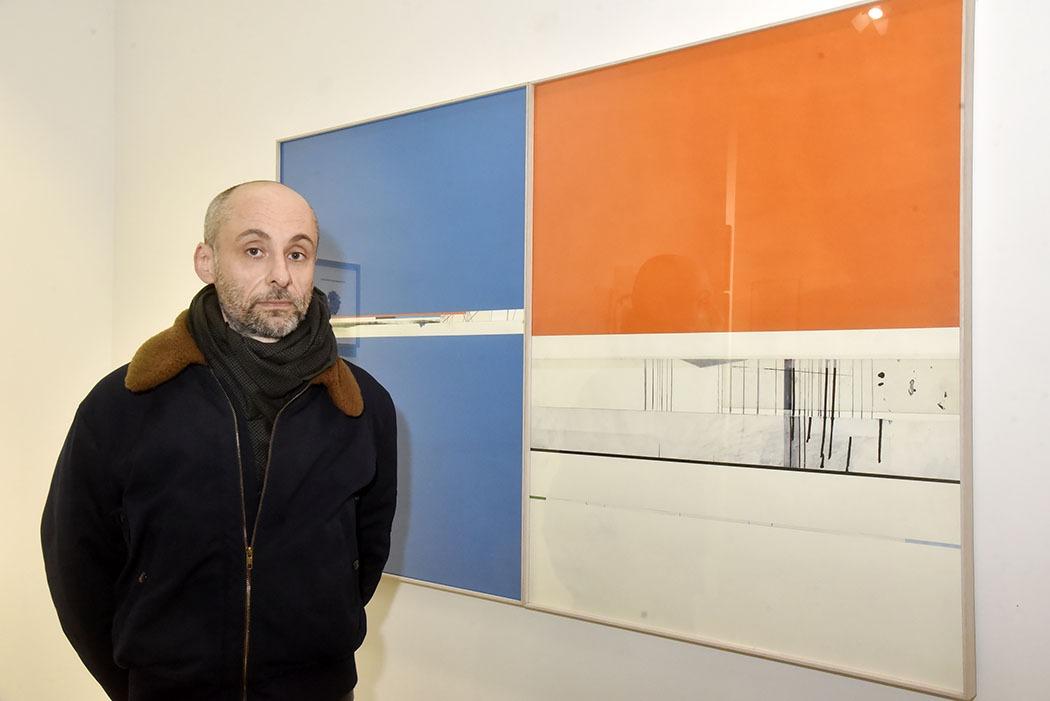 Stéphane Guénie s'affiche en mode tricolore