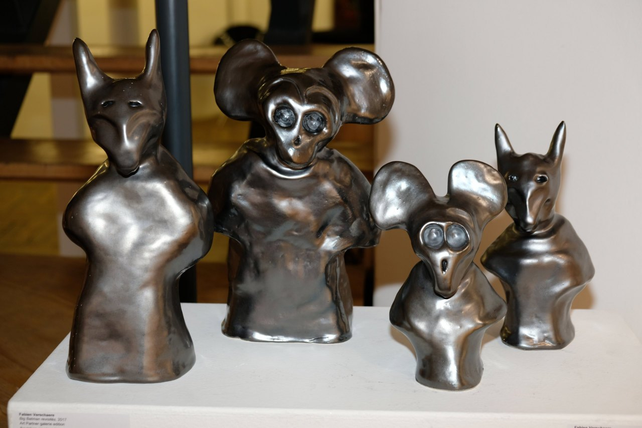 Les sculptures de Fabien