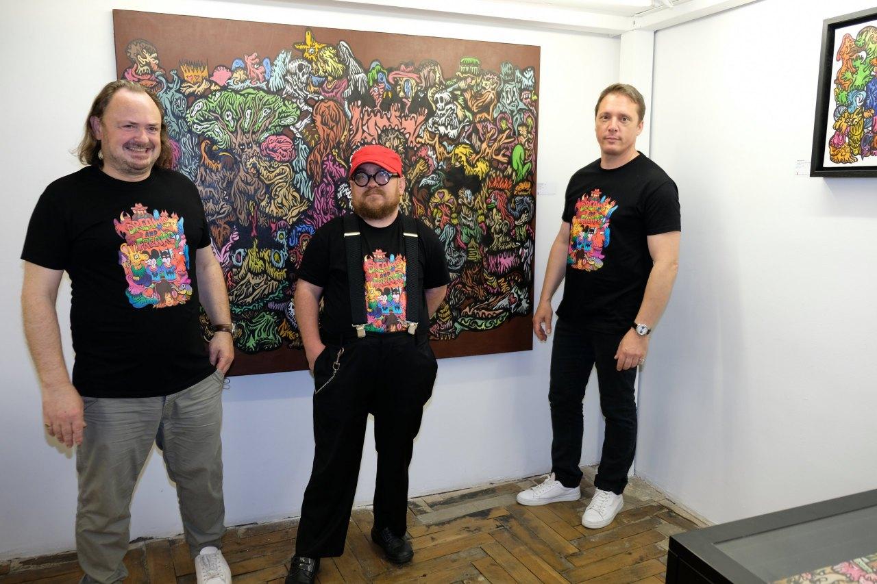 Eric Brugier, Fabien Verschaere et Laurent Rigail