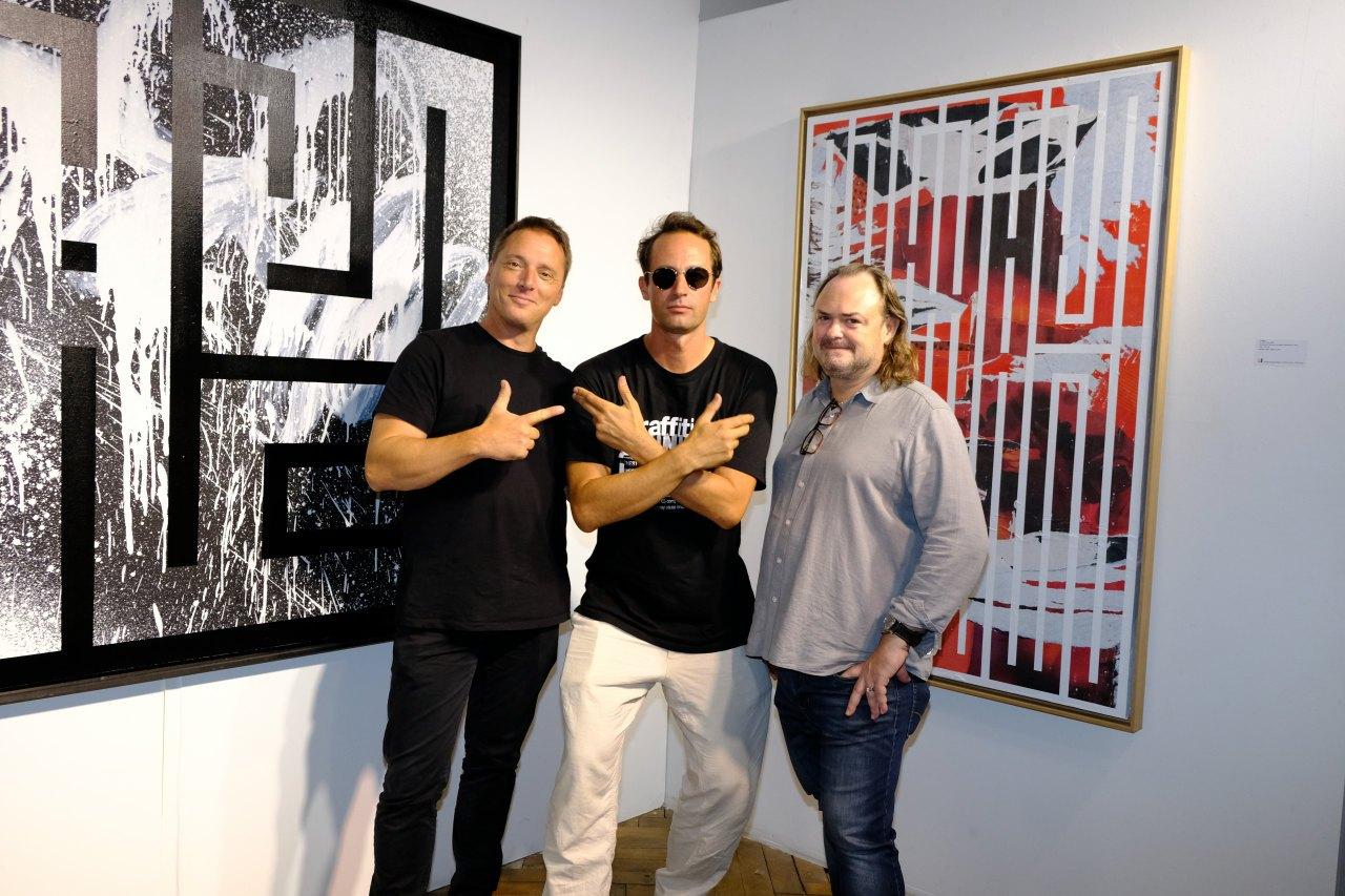 Laurent , LATLAS et Eric