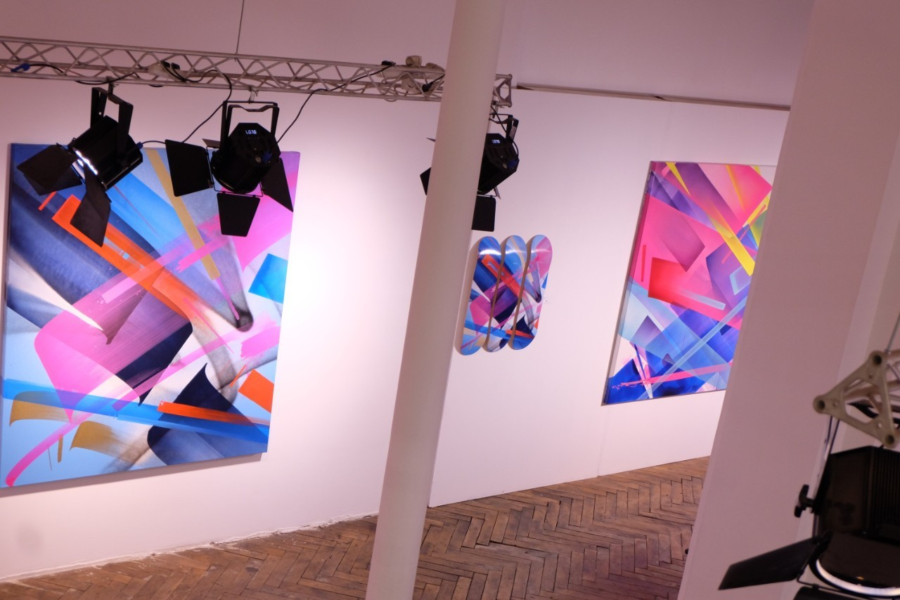 MAD C expo a la galerie Brugier Rigail