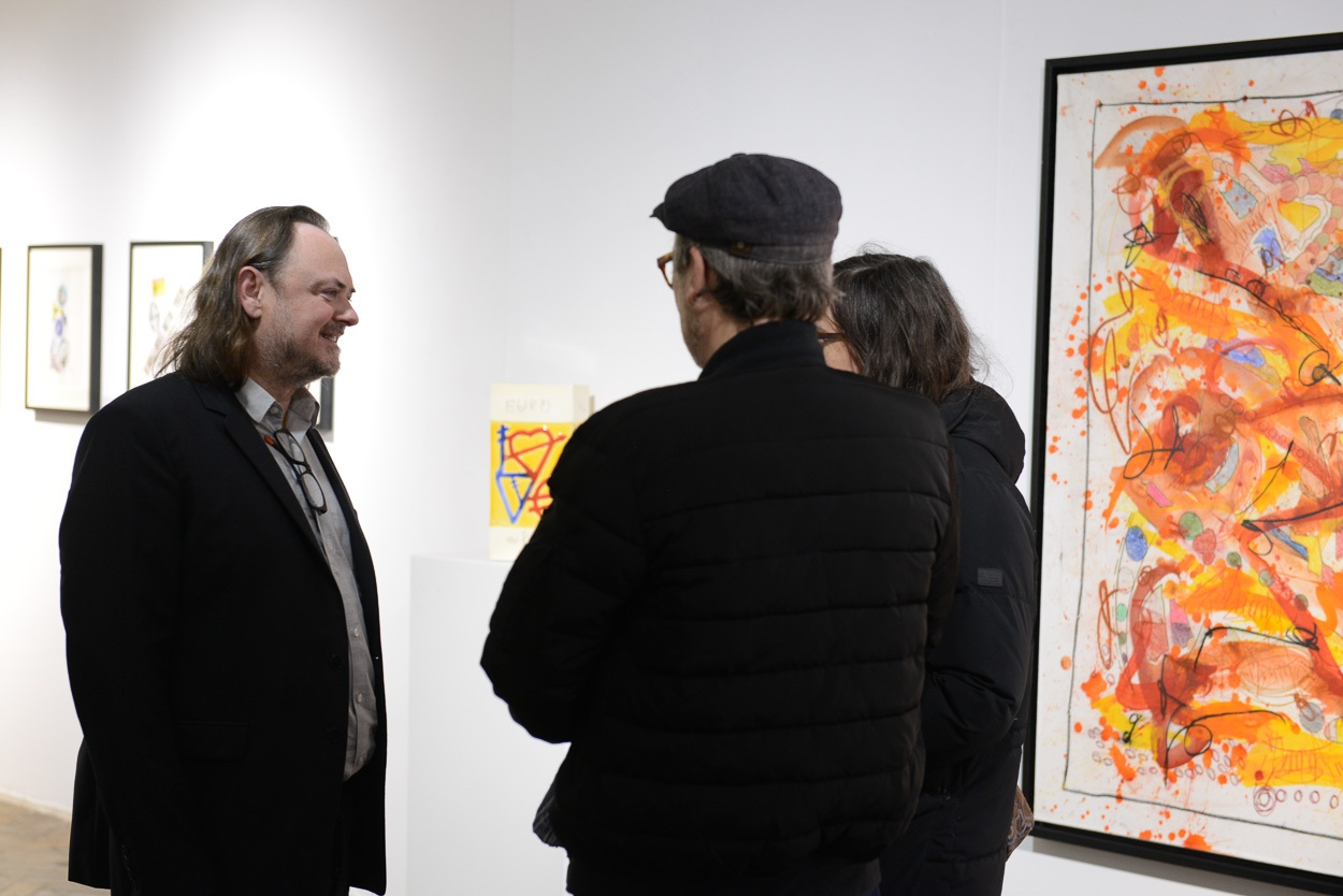 Eric Brugier en conversation