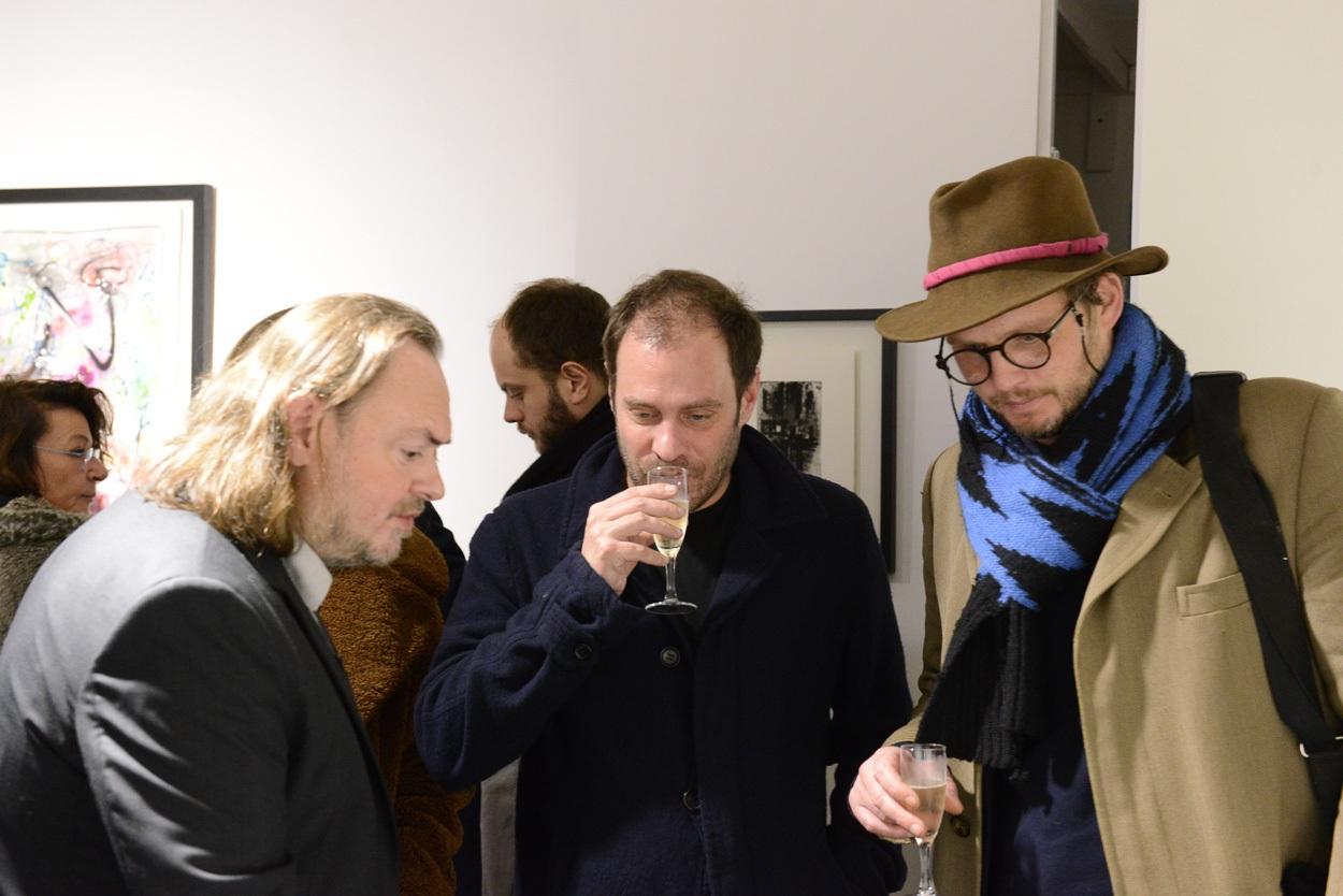Eric Brugier avec Julien Verry et Guilhem de Castelbajac