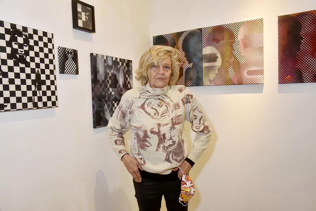 Expo Contact Sans Contact à Galerie Basia Embiricos artiste Dominique Fury