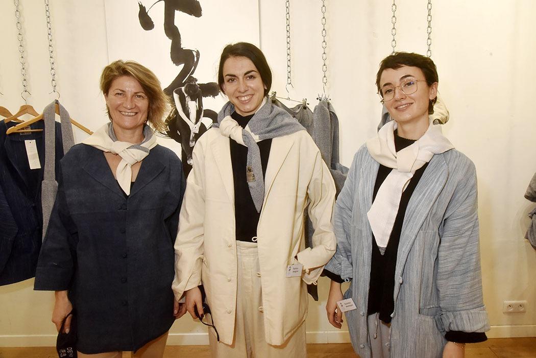 Galerie Ephemere Expo Deyi X Chris Calvet : Nathalie Sanchez, Adriana Gagigas et Pauline Ferrieres