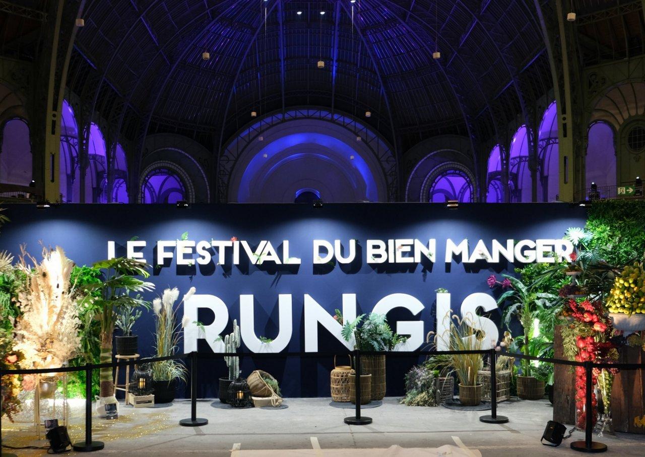 Rungis au Grand Palais, c 'est surtout bien Manger.