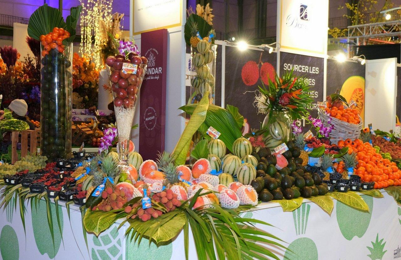 Les primeurs de fruits exotiques et de saison