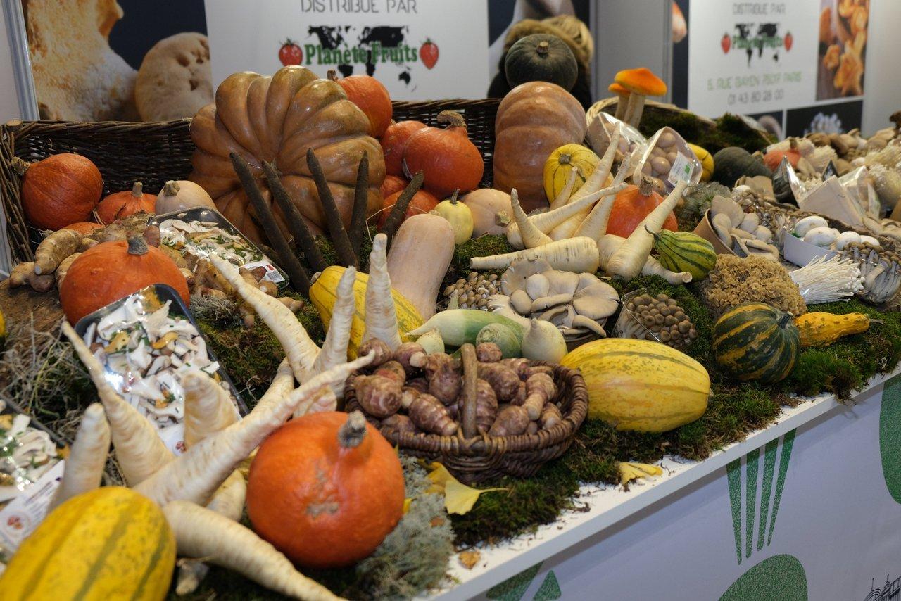 Les légumes donnent des couleurs a l automne parisien.
