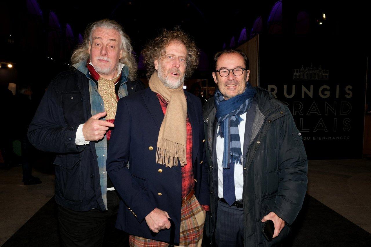 Jean Croc , Fabrice de Rohan Chabot et Christian Mantéi Atout France