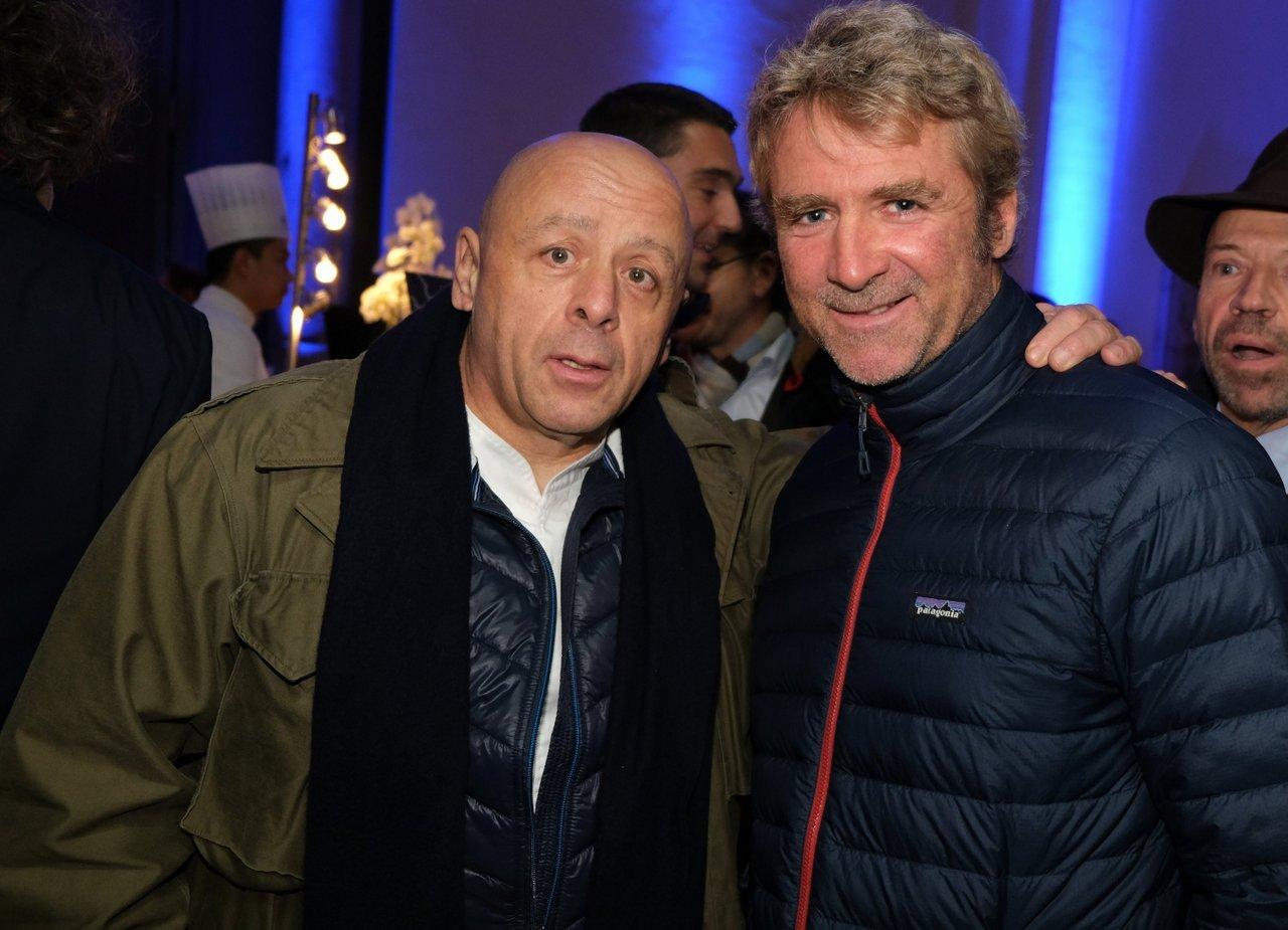 Thiuerry Marx et Yann Eliés