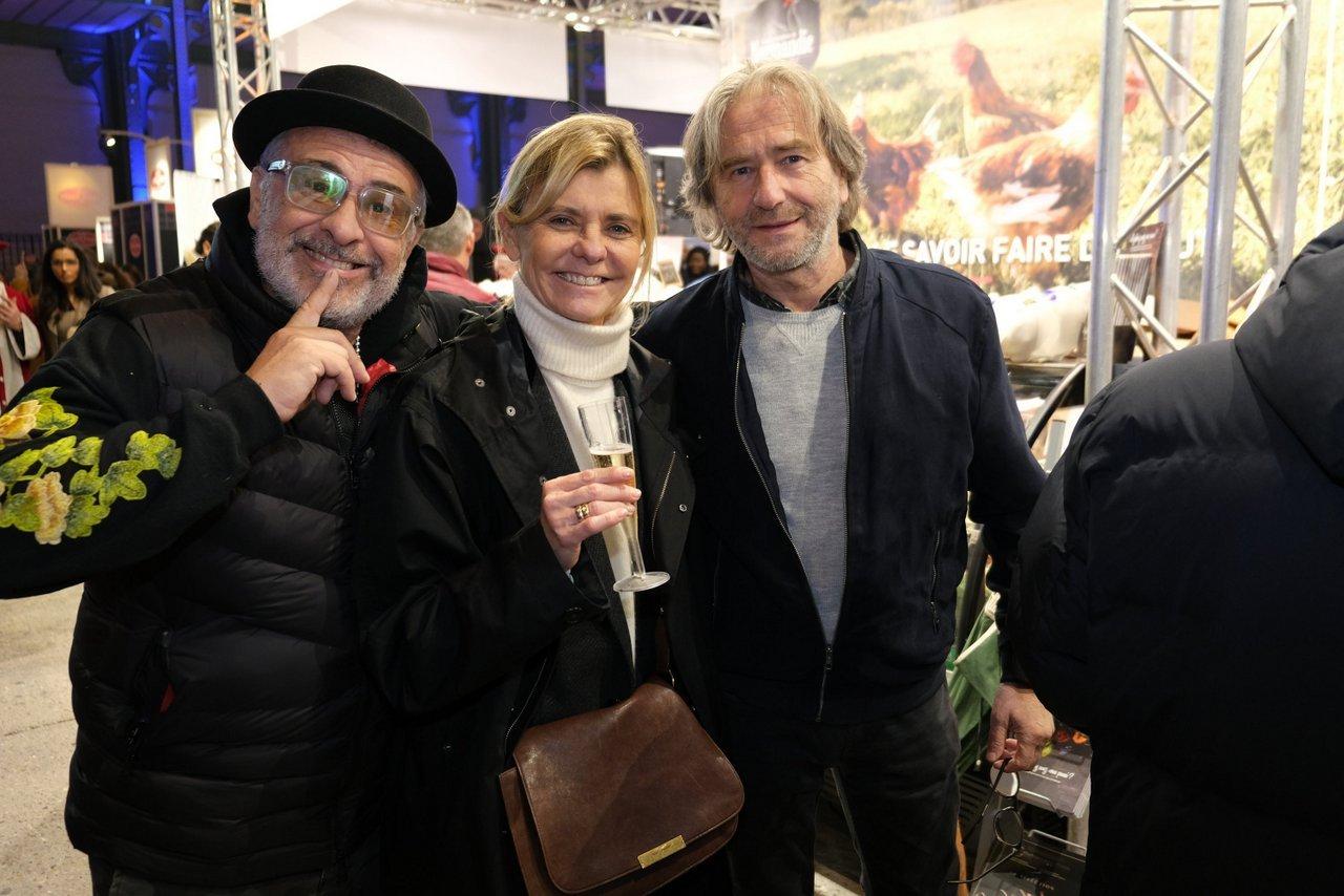 Jacky Jayet, Pascale Ricard et Jean Luc Poujauran maitre Boulanger.