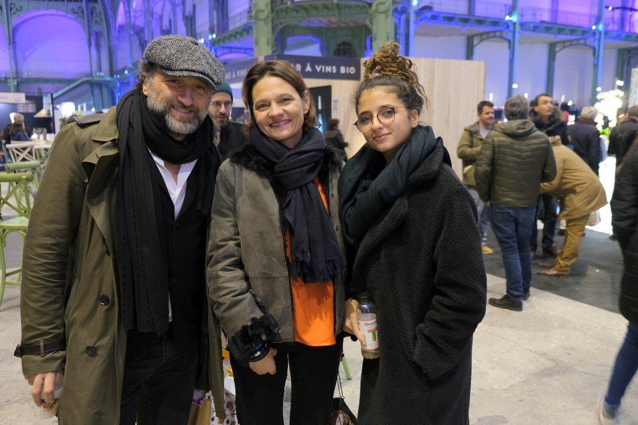 Franck Tapiro , sa fille avec Emmanuelle Jary créatrice de C'est meilleur quand c 'est bon