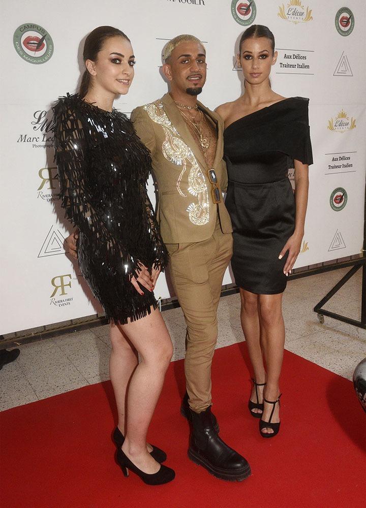 Mykaëla et sa copine Axelle Rabel sont habillées par Lamine Mouro
