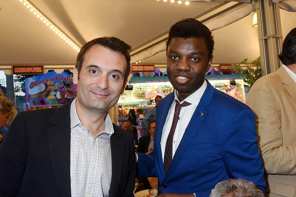 """Jean Barthelemy Bokassa compte il sur les potes """"sportifs"""" de Florian Phillipot pour lui recuperer un jour le trône de papy"""