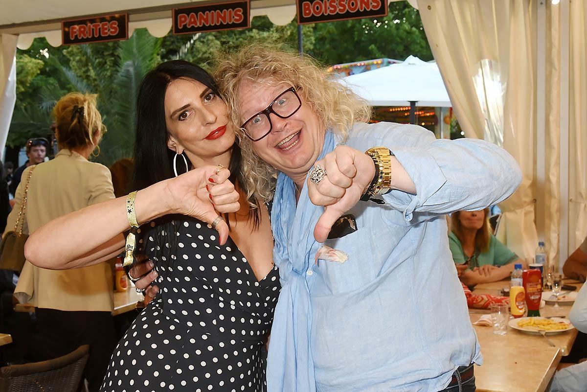 Sylvie et son grand pote Pierre Jean Chalencon unis pour le meilleur et surtout pour le pire