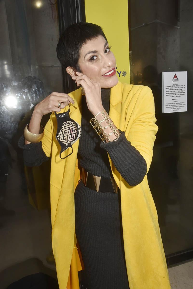 Mme France Abigail Lopez Cruz voit la vie en jaune