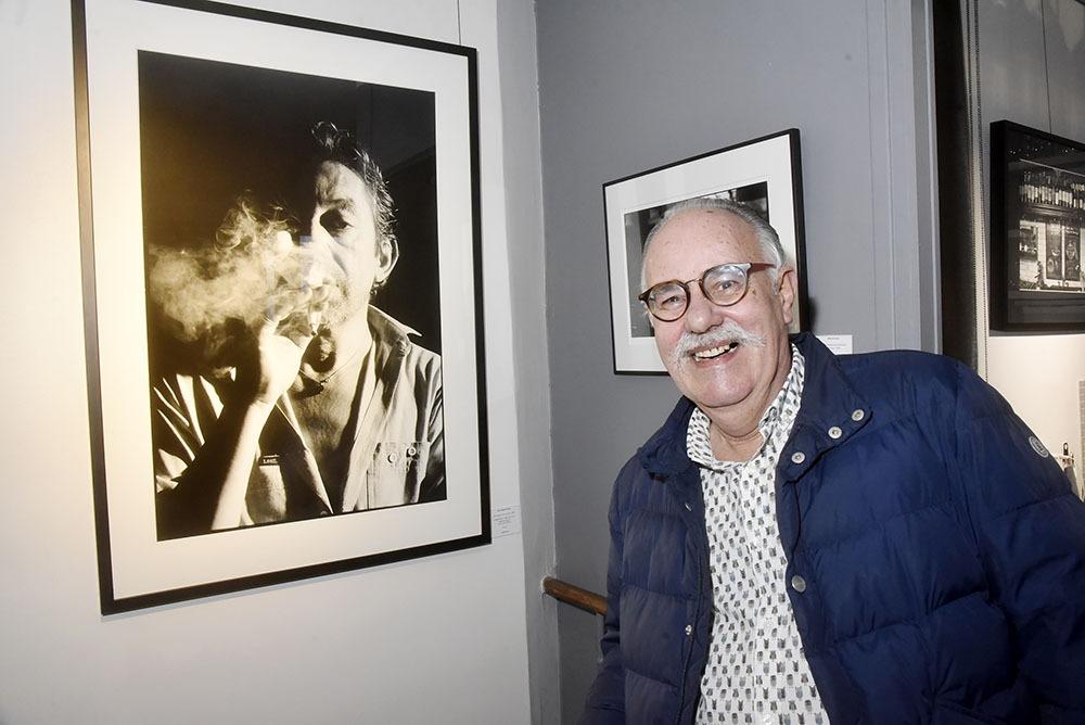 Jean Jacques Bernier et le grand cabotin qui fume