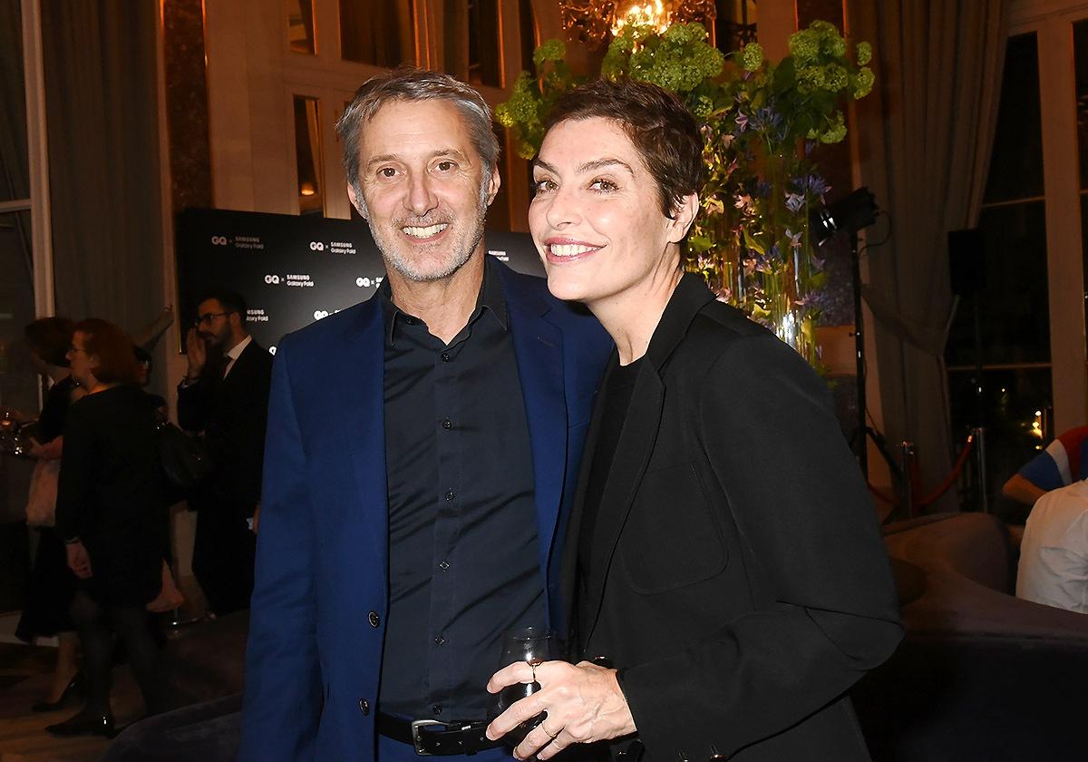 Antoine de Caunes et Daphné Roulier sont GQ et chemise