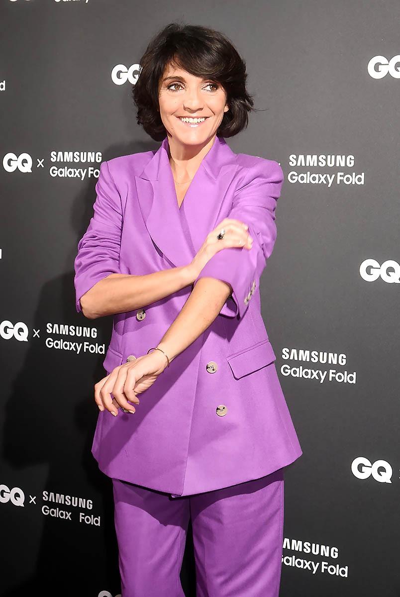 Ho Ho Si la GQ Humoriste of The Year Florence Foresti retrousse ses manches planquez vous ca va balancer sec!